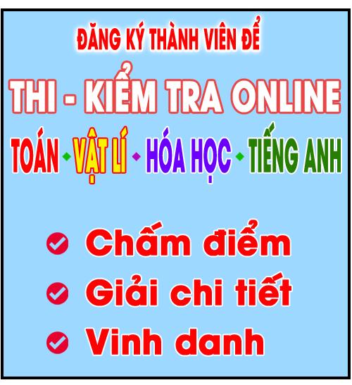 Thi - Kiểm Tra Online